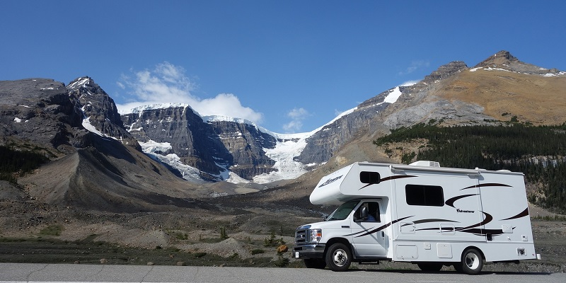 Travelling with a motorhome