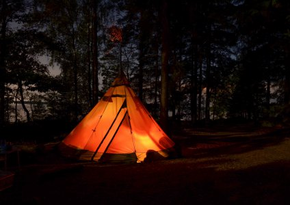 Pyramid tent, the practical decision for camping