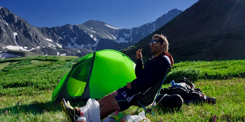 Das wichtigste beim Camping ist das Zelt